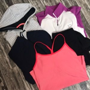 Small Athletic mixed workout lot women's medium